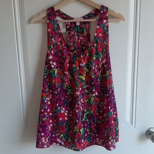 Lilly Pulitzer Wild Confetti Devany Top Size Large